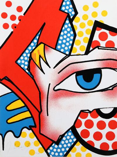 """CRASH (John """"Crash"""" Matos), 'Metropark Print ', 2006"""