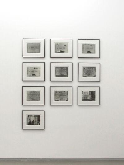 Luis Camnitzer, 'La socializzazione di un opera d'arte', 1972
