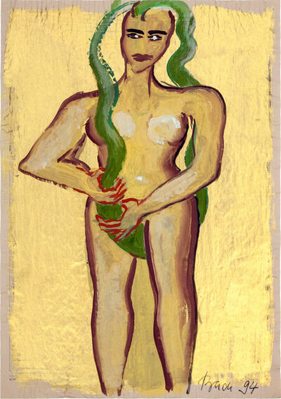 Elvira Bach, 'Körperliche Kunstform', 1994