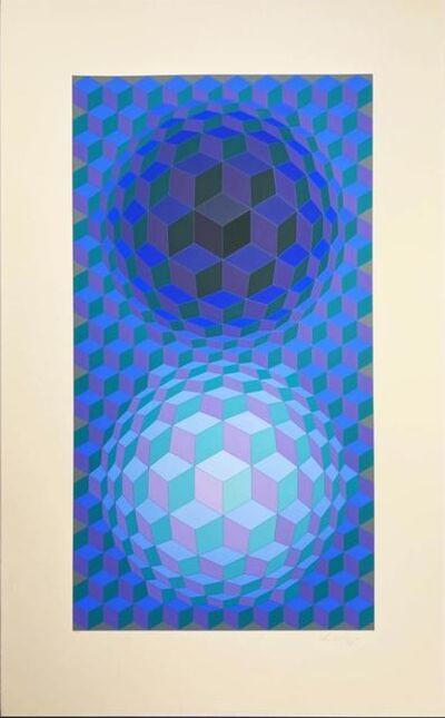 Victor Vasarely, 'Album Meta: Seven Plates 5', 1976