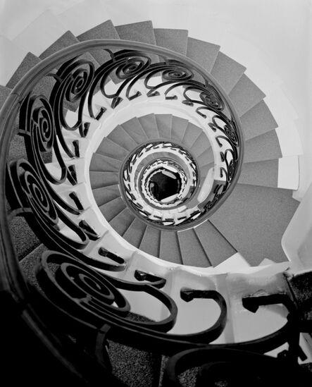 Igor Palmin, 'A. Derozhinskaya Residence, Interior Stairs. Kropotkinsky Lane, Moscow. Architect F. Schekhtel', 1996