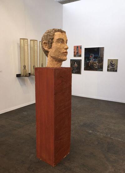 Stephan Balkenhol, 'Head of a man', 2005