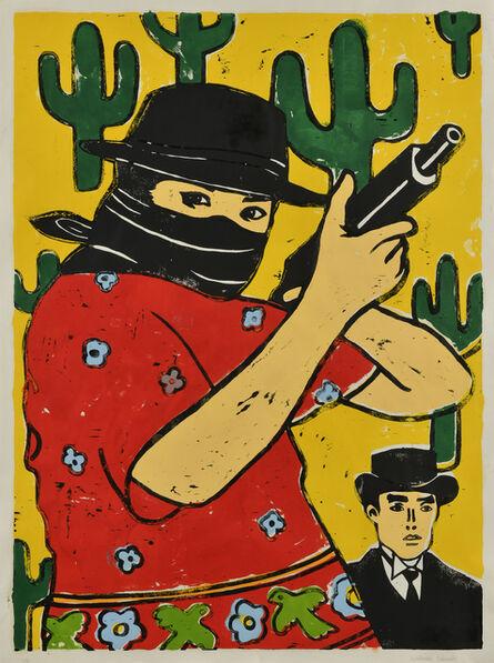 Nobuaki Takekawa, 'Mr. Cactus & Resistance Woman', 2020