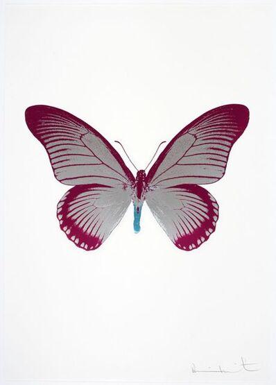 Damien Hirst, 'The Souls IV - Silver Gloss - Fuchsia Pink - Topaz', 2010