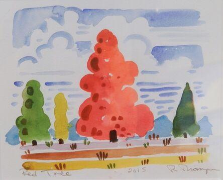 Richard Thompson, 'Red Tree', 2015