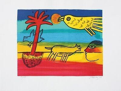 "Corneille, 'Composition aux animaux sauvages. Composition ""The Wild animals""',  2004"