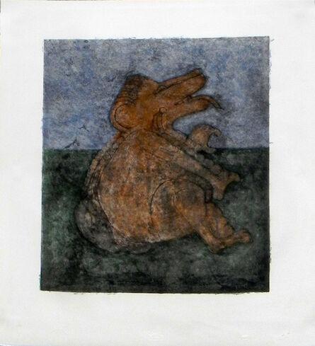"Rufino Tamayo, '""Perro Prehispanico""', 1994"