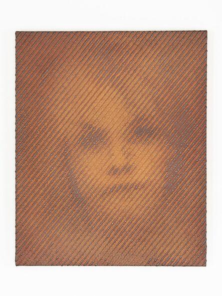 "Tomohiro Kato, 'iron-oxide painting ""S.M./S****74""', 2020"