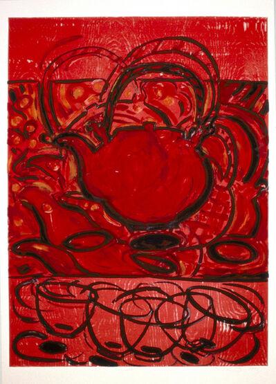 Helen Oji, 'Teapot (framed)', 1991