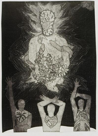 Belkis Ayón, 'Siempre vuelvo (I Always Return)', 1993