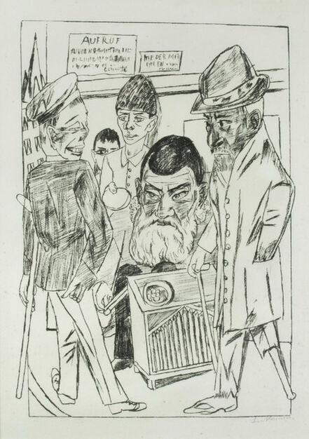 Max Beckmann, 'Die Bettler (The Beggars)', 1922