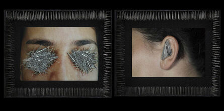 Lidzie Alvisa, 'Ojos que no quieren ver  y oídos que no quieren oír /Eyes that don't want to see and ears that don't want to hear', 2004-2008