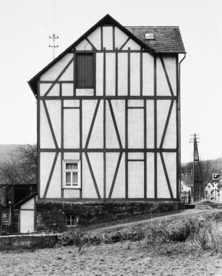 Bernd and Hilla Becher, 'Framework House: Konrad-Adenauer-Straße 1,   Niederfischbach', 1962 / printed 2016