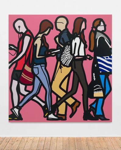 Julian Opie, 'Walking in Southwark 2', 2014
