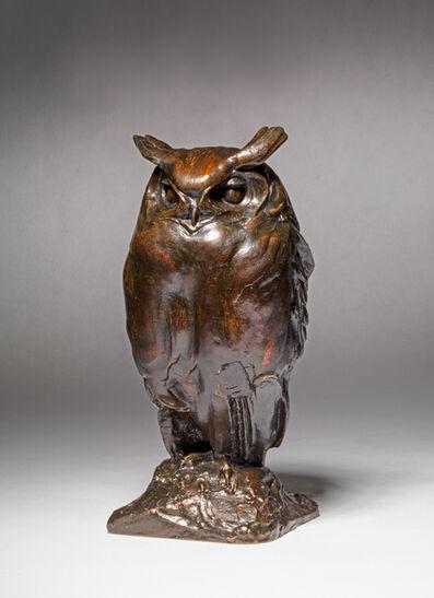 georges collard, 'Eagle Owl', ca. 1925