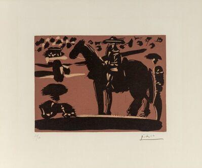 Pablo Picasso, 'Picador entrant dans l'Arène', 1959