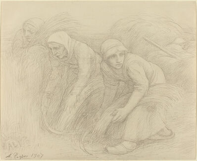 Alphonse Legros, 'The Reapers', 1907