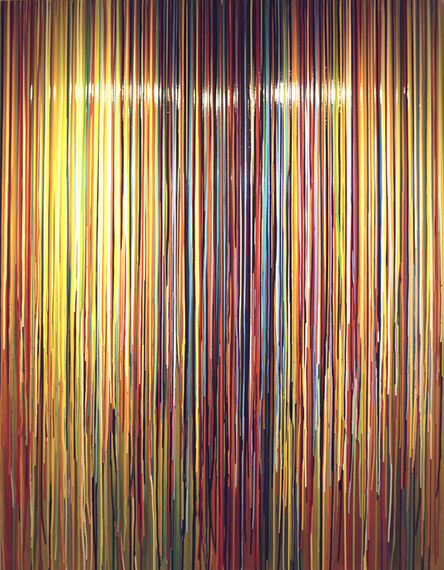 Markus Linnenbrink, 'ZUBEGINNLIEGTDIEZEIT ZUUNSERENFUESSEN', 2007