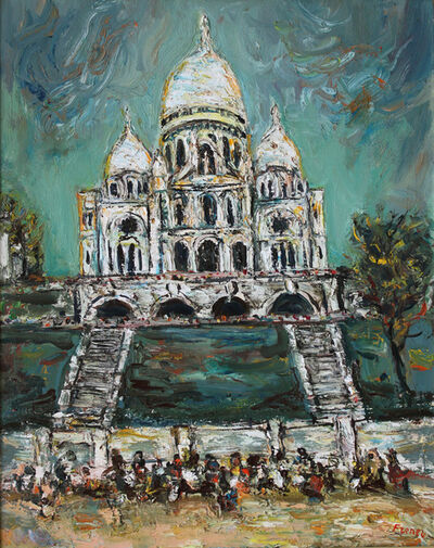 Itzhak Frenkel-Frenel, 'Sacré-Coeur', 20th Century