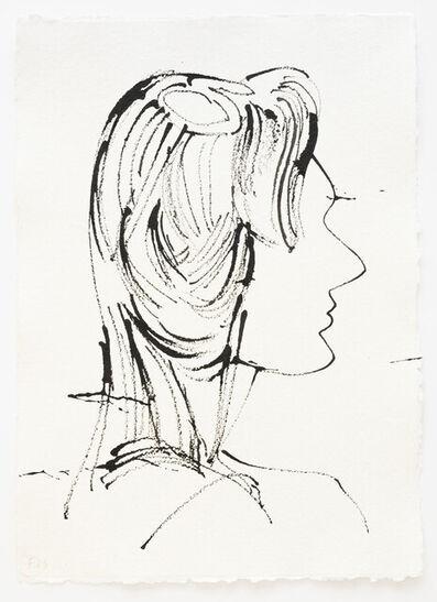 Frank J. Stockton, 'Woman in Profile', 2021
