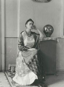 Manuel Álvarez Bravo, 'Frida Seated With Globe', 1938