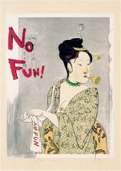Yoshitomo Nara, 'In the Floating World No Fun', 1999