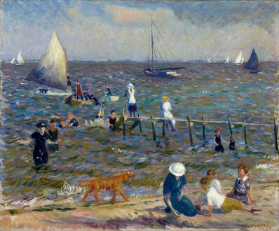 William James Glackens, 'The Little Pier', 1914