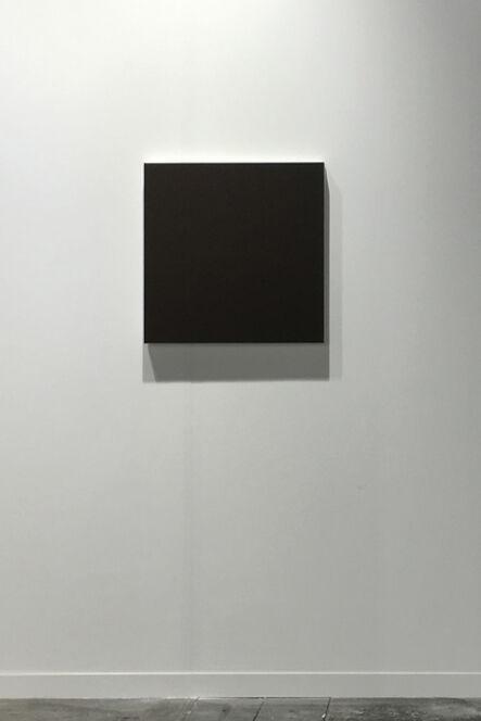 "Rudolf de Crignis, 'Painting #93041, ""Green-Red Lines"" - Black series', 1993"