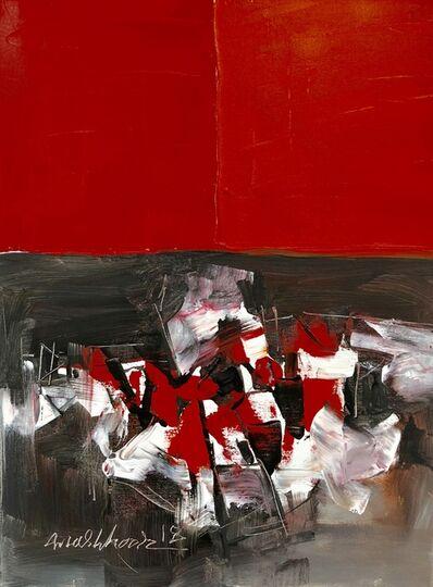 Mashkoor Raza, 'abstract comosition', 2018