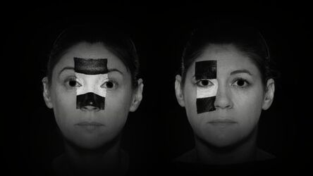 Jane and Louise Wilson, 'Face Scripting: What Did the Building See ?', 2011