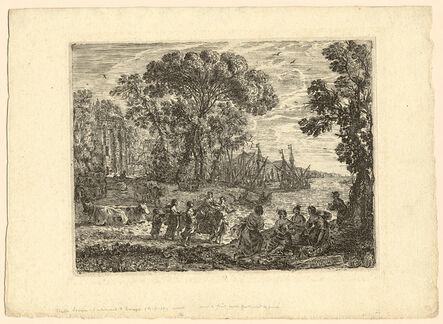 CLAUDE GELLÉE called Le Lorrain, 'The Rape of Europa', 1634