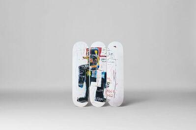 "Jean-Michel Basquiat, 'BASQUIAT ""IRONY OF A NEGRO POLICEMAN"" TRIPTYCH SET', ca. 2016"