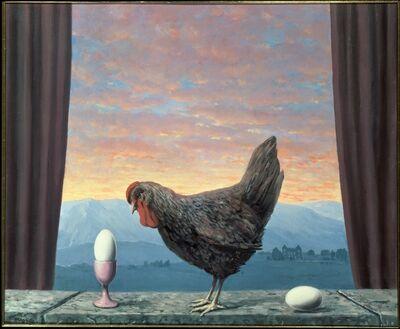 René Magritte, 'Variante de la tristesse', 1957