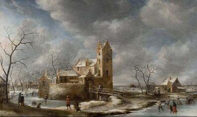 Jan Abrahamsz. Beerstraten, 'Winter Scene', 1653-1666