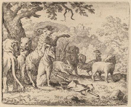 Allart van Everdingen, 'The Ram Blesses Reynard', probably c. 1645/1656
