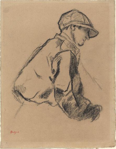 Edgar Degas, 'Study of a Jockey', ca. 1884