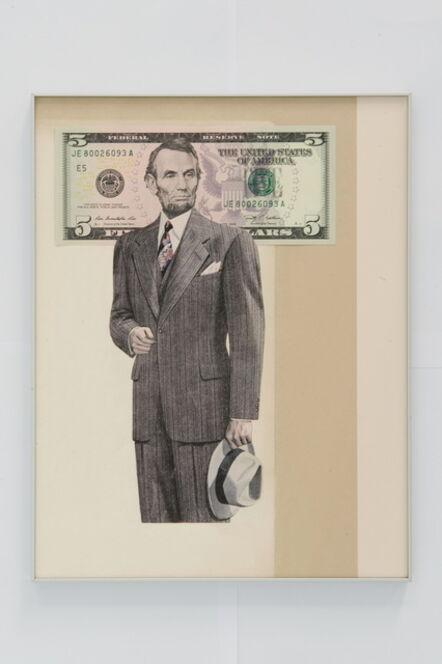 Hans-Peter Feldmann, 'Mr. Dollar', 2014