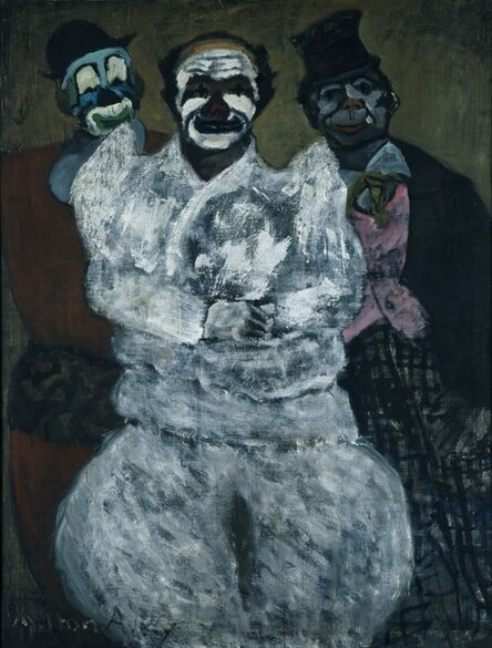 Milton Avery, 'Clowns', 1935