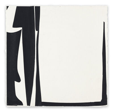 Joanne Freeman, 'Covers 13 - Black D (Abstract painting)', 2014