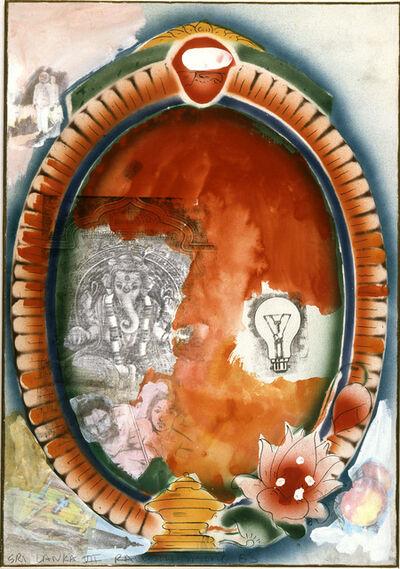 Robert Rauschenberg, 'Sri Lanka VII', 1983