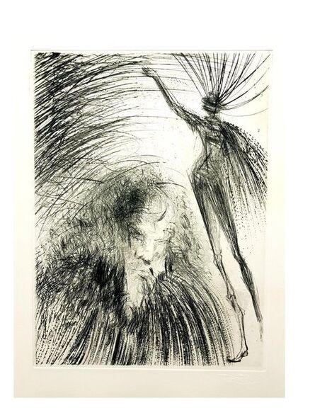 "Salvador Dalí, 'Original Engraving ""Old Faust"" by Salvador Dali', 1969"