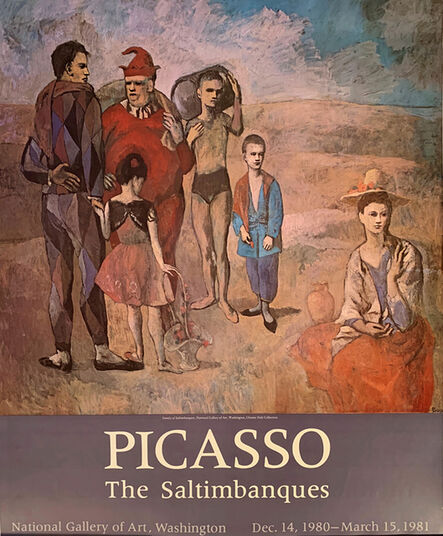 Pablo Picasso, 'Picasso, The Saltimbanques, National Gallery of Art, Washington, Gallery Poster ', 1981