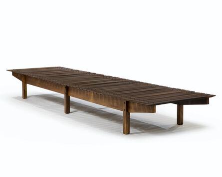 "Sergio Rodrigues, '""Mucki"" Long Bench', ca. 1958"