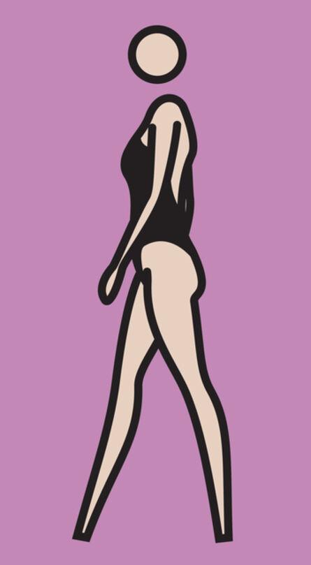 Julian Opie, 'Monique Walking., 219.5 x 123 cm', 2008