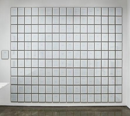 Vincent Como, 'Mantras, Meditations, Missives, and Apocrypha', 2019