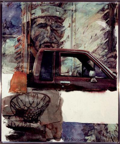 Robert Rauschenberg, 'Untitled (Native American with Truck)', 2000
