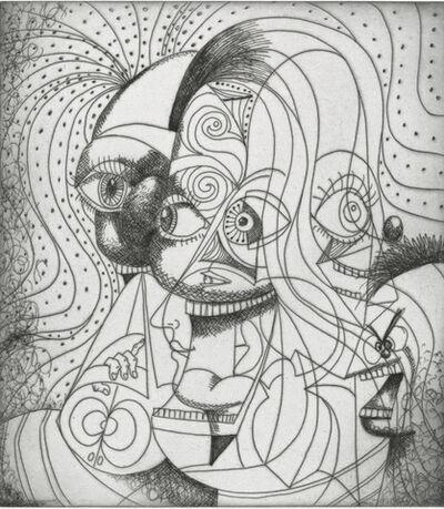 George Condo, 'The Insane Clown', 2019