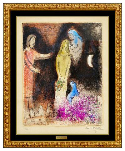 Marc Chagall, 'Chloe Vetue et Coifee par Cleariste', 1961