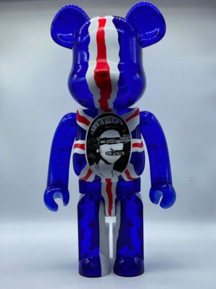 BE@RBRICK, 'Sex Pistols : God Save the Queen (Clear) 1000%', 2016