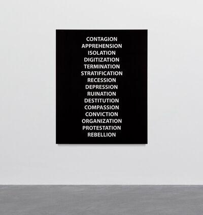 Sharon Lockhart, 'History Painting I (The New York Times, April 24-June 8, 2020)', 2020